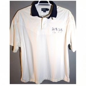 Ralph Lauren men's size 2xb big rugby-style shirt